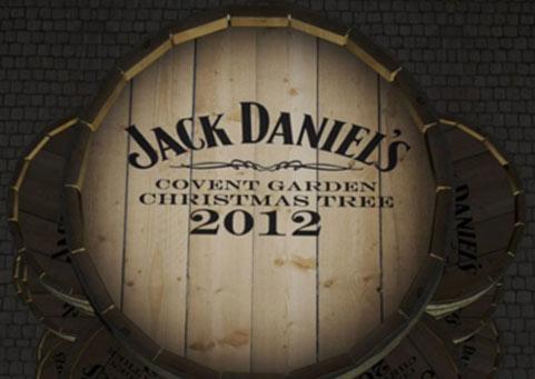 Jack Daniels Christmas Tree Install Timelapse